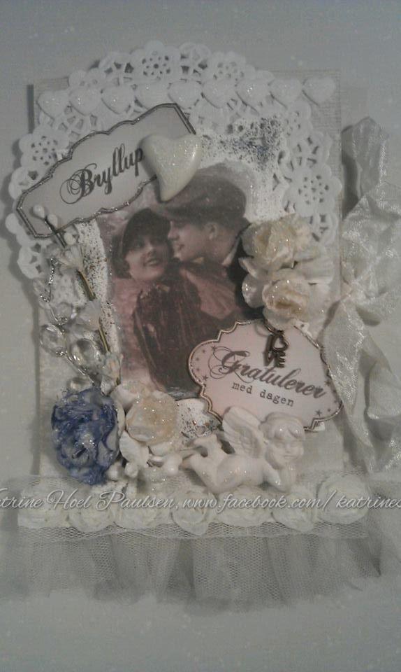 A winterwedding card