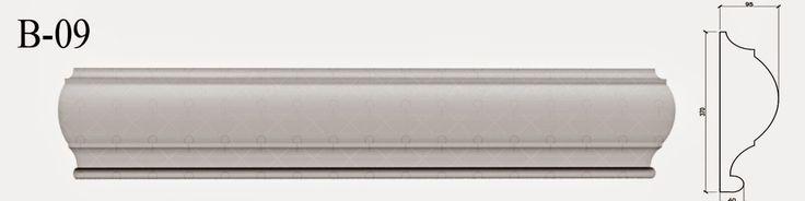 Brauri - Profile Decorative Polistiren B-09