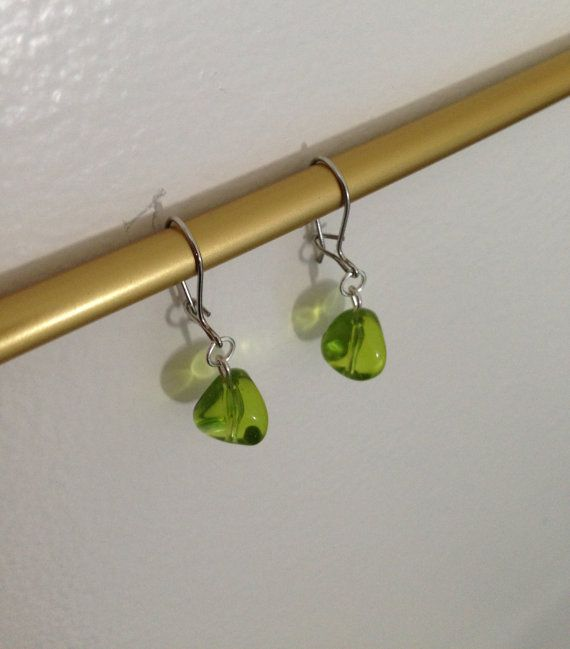 I love these quirky-shaped little earrings!