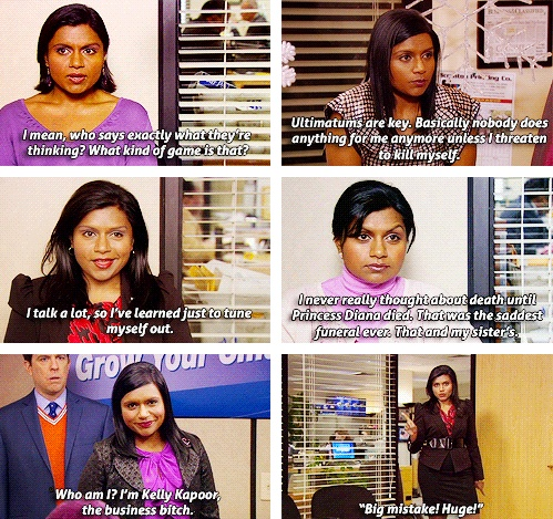 kelly kapoor - my fav office character