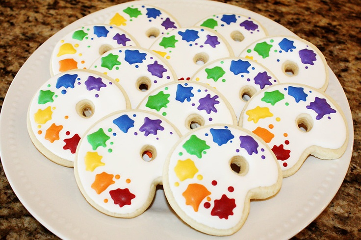 Cookie Cake Designs Ideas