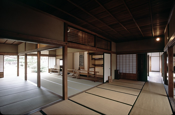 Living quarters in the Takayama Jinya.  Takayama, Japan.