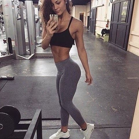 strong body of good nutrition and the gym – goal
