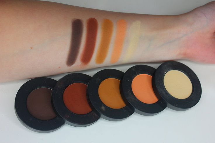 Melt Cosmetics Rust Stack and Dark Matter Stack - reviews, swatches and makeup looks! On themakeupaffair.com!