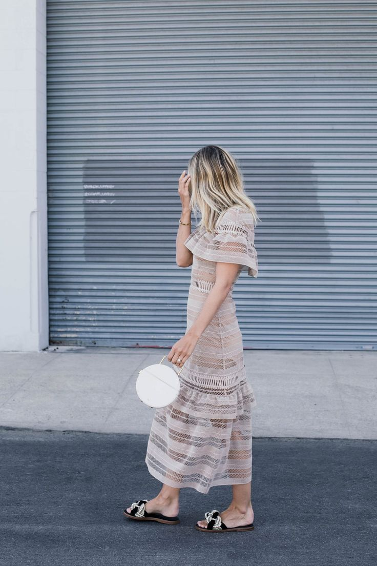 Damsel in Dior | Nude Dresses and Evening Sandals