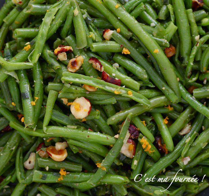 C'est ma fournée !: La salade d'haricots verts d'Ottolenghi, noisette et orange
