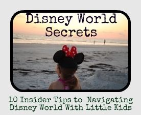 These aren't your typical Disney World suggestions...find out some true secrets to enjoying Disney World with two little kids. Hint: think moderation...
