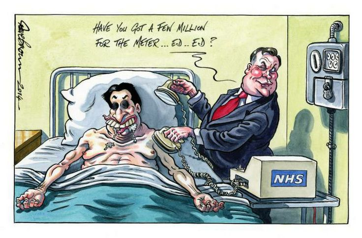 Have you got a few million for the Meter ... Ed .. Ed ?  NHS, Ed Miliband, and…