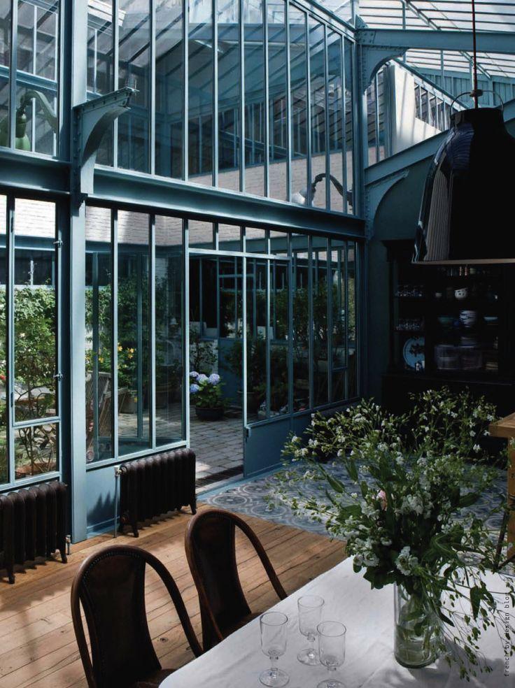 Old industrial factory loft conversion - Place Monge, Paris