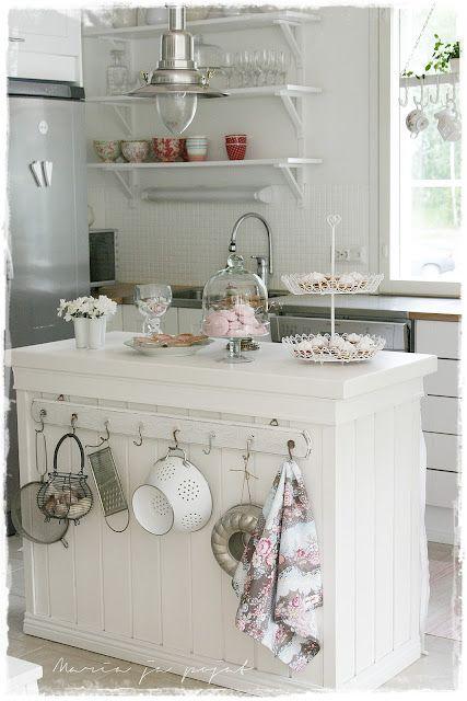 271 best modern cottage style kitchen images on pinterest - Shabby chic modern kitchen ...