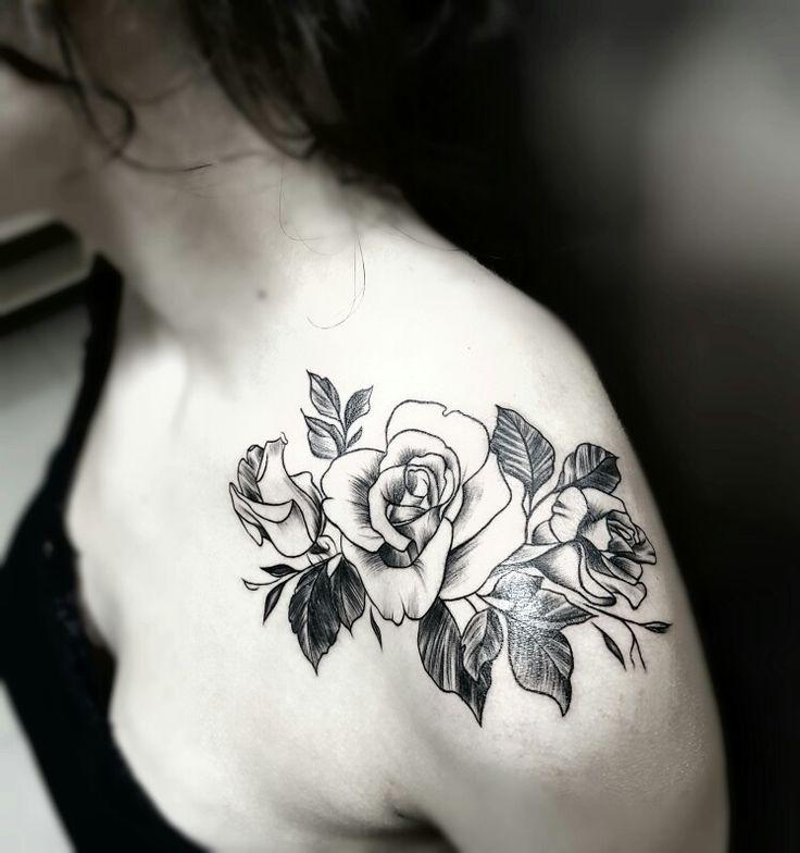 Brolin Kosta Tattoo Rose tattoo #Brolintattooartis