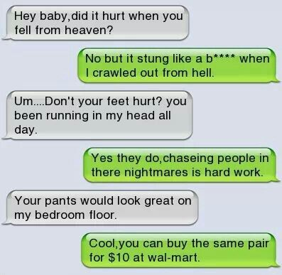 Good pick up lines for guys to use