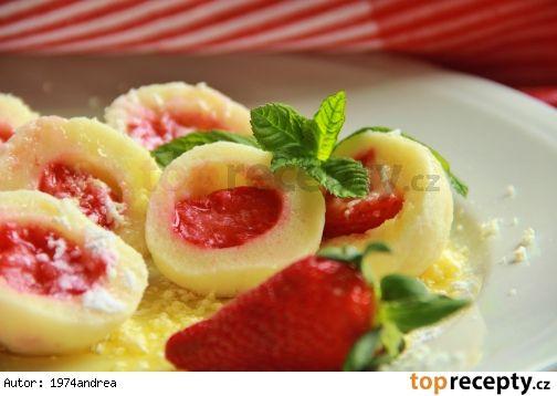 Nejjednodušší tvarohové těsto na ovocné knedlíky ( bez vejce )