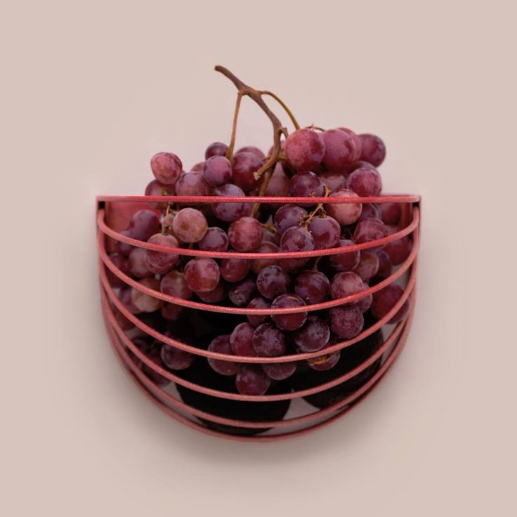 Baskette wall basket by wallment | Nordic Design