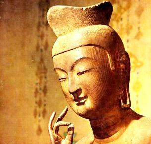 広隆寺弥勒菩薩 / Maitreya Koryu-ji Temple