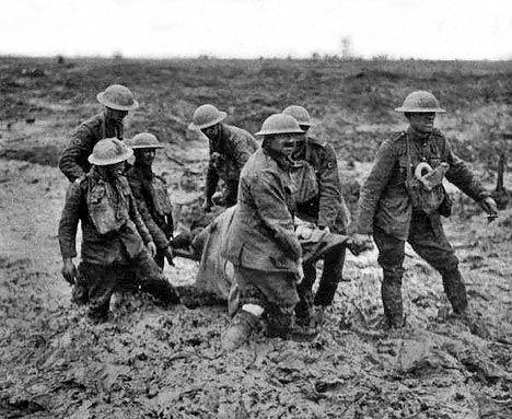 World War I - Mud
