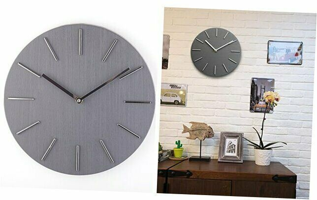 Bloom Flower 12 Inch Decorative Wall Clock Silent Non Ticking For Home Office Wall Clocks Ebay Link In 2020 Clock Wall Decor Wall Clock Silent Clock
