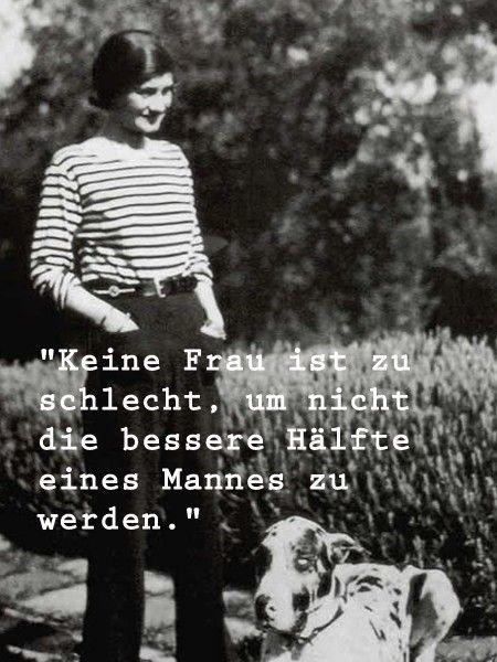 Die schönsten Sprüche von Coco Chanel