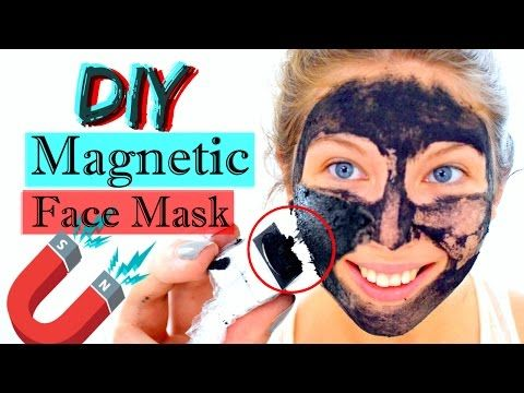 DIY MAGNETIC MASK | How to make a Magnetic Face Mask - YouTube