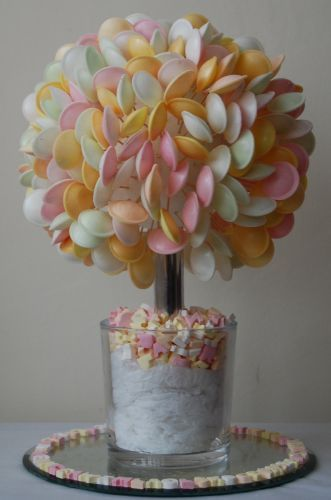 Disco Flying Saucer sweet tree - for the middle of the table