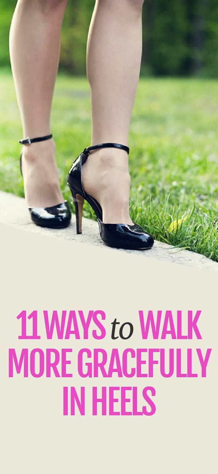 11 ways to better walk in heels