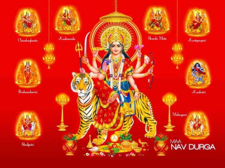 Navdurga - Navratri Dates Puja Mantra Celebrations