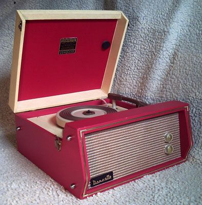 1950s Dansette Conquest record player on eBay
