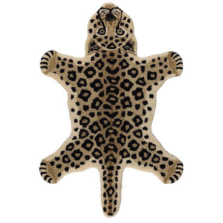 GENIAAL Vloerkleed luipaard klein, Bruin