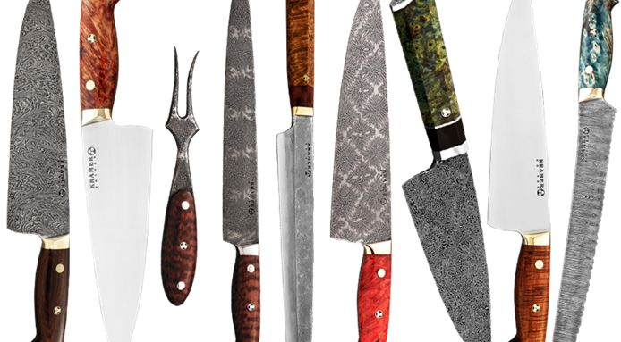 Chef's Knives Made with Melted Meteorite Might Be The Best in the World
