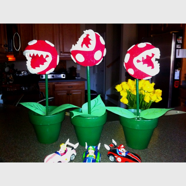16 best backyard mario party ideas images on pinterest for Mario decorations