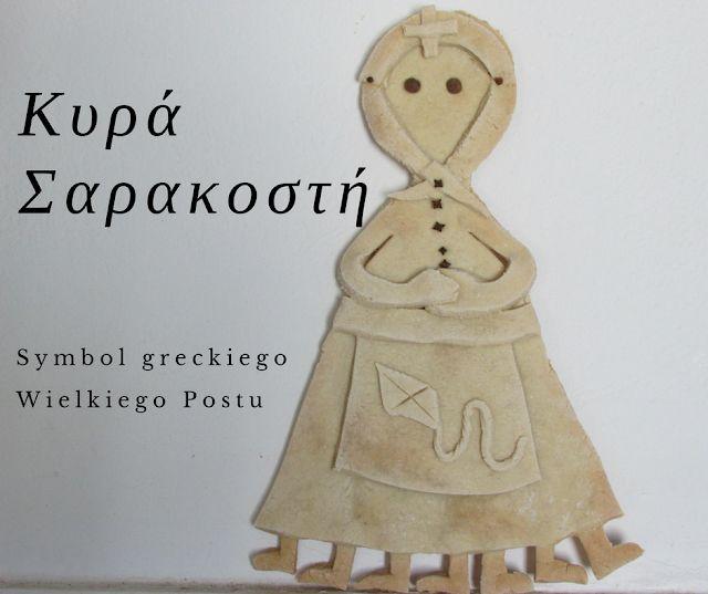 Wyspa Rodos : Kyra Sarakosti - symbol greckiego Wielkiego Postu