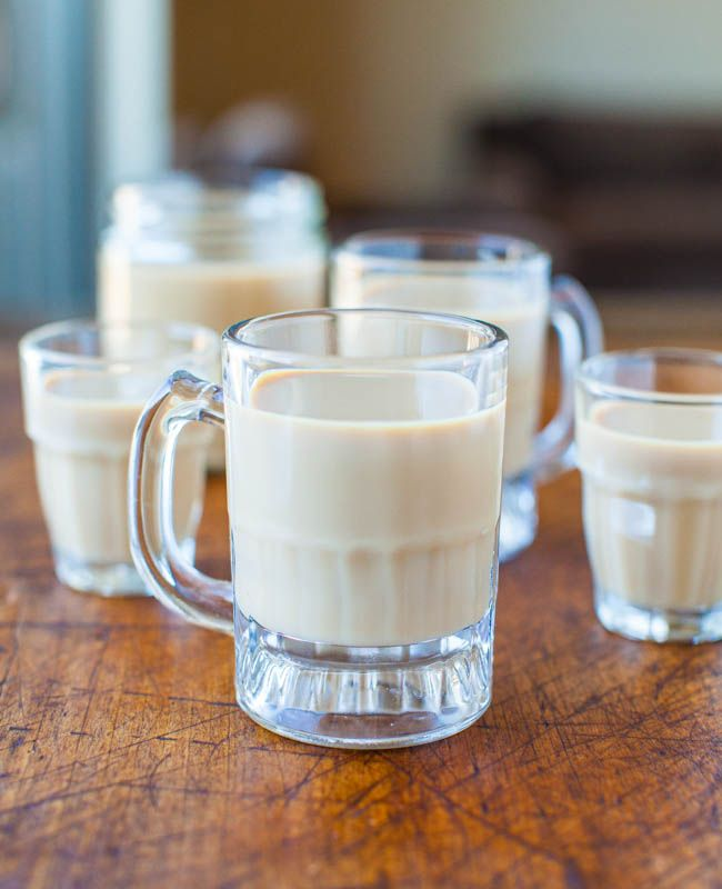 I love Baileys Irish Cream and every year around St. Paddy's Day I see recipe after recipe incorporating it. This year I decided to skip the cakes with Baileys frosting and focus on the actual Baileys. So I made some. Homemade Baileys comes together in under one minute in the blender. It's so easy that …