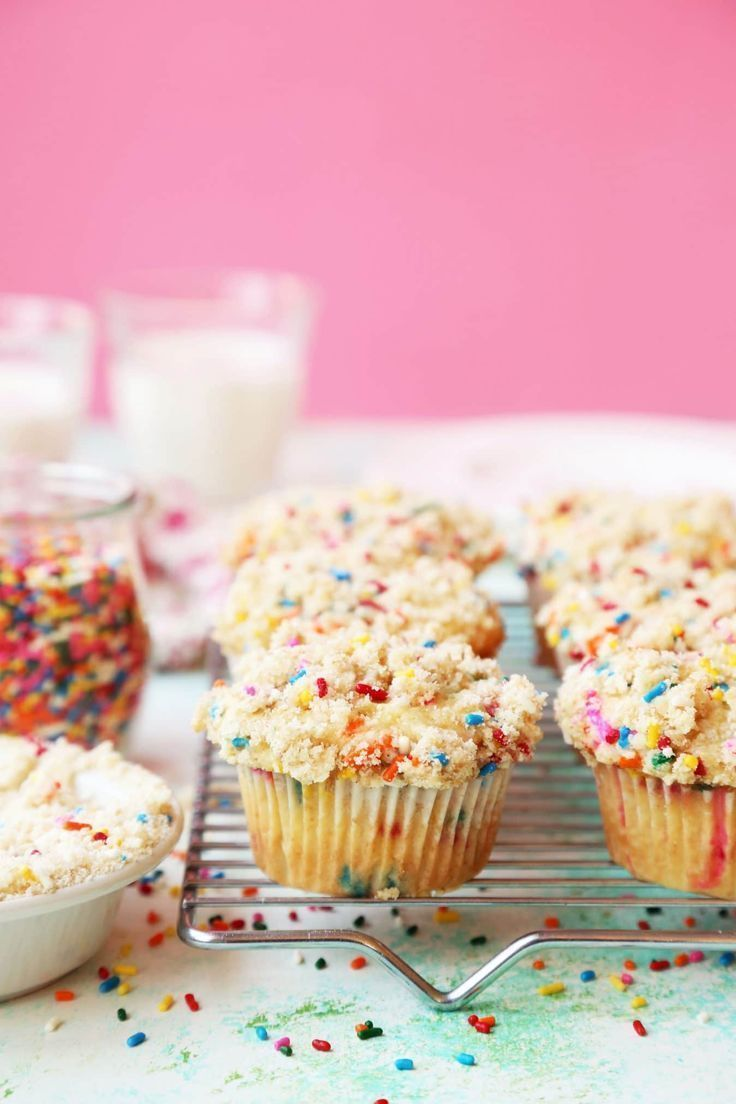 Birthday Coffee Cake Muffins Rezept Kuchen Und Torten Leckere