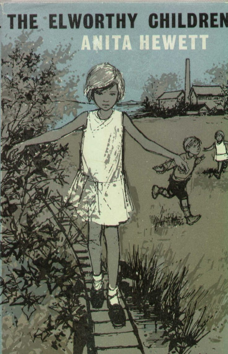 Margery Gill's cover illustration for The Ellsworthy Children by Anita Hewett, 1963