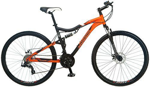 Iron Horse IH7082 Men's Sinister 6.1 Full-Suspension Bicycle (29-Inch Wheels), 18-Inch/Medium, Orange - http://www.bicyclestoredirect.com/iron-horse-ih7082-mens-sinister-6-1-full-suspension-bicycle-29-inch-wheels-18-inchmedium-orange/