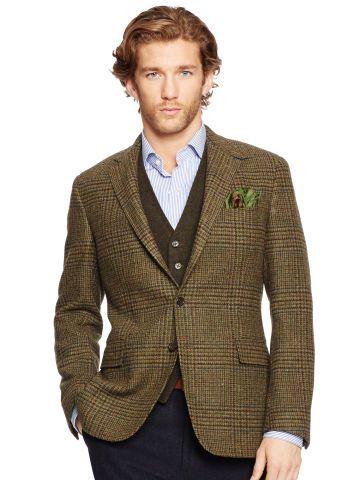Polo Ralph Lauren Blazer Bedford prince de Galles - Polo Ralph Lauren Blazers, Costumes