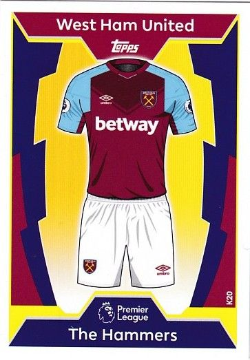 West Ham home for 2016-17.