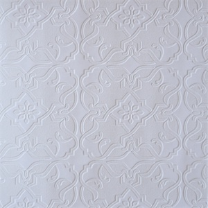 Paintable Wallpaper 2.cheaper Than Pressed Tin?
