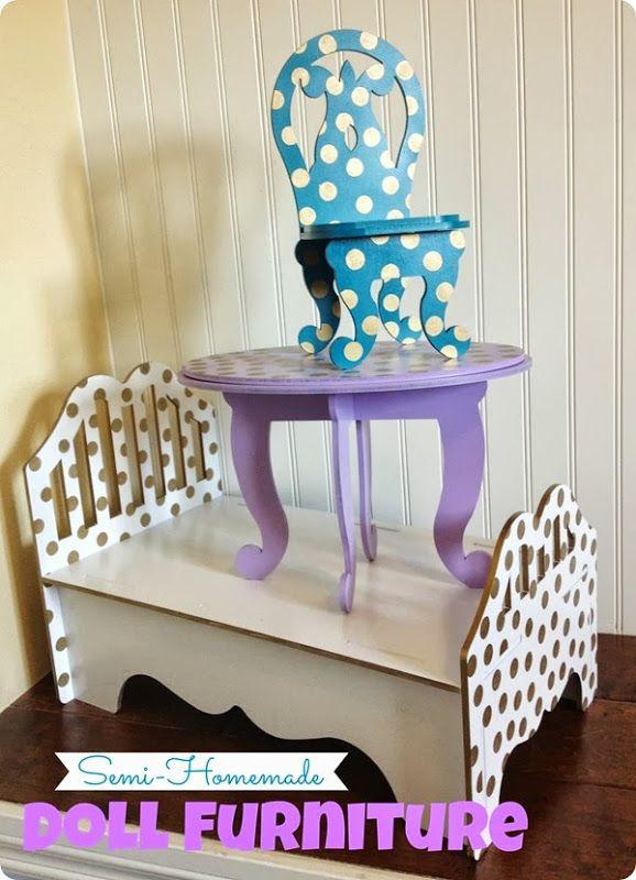 Semi-Homemade Doll Furniture
