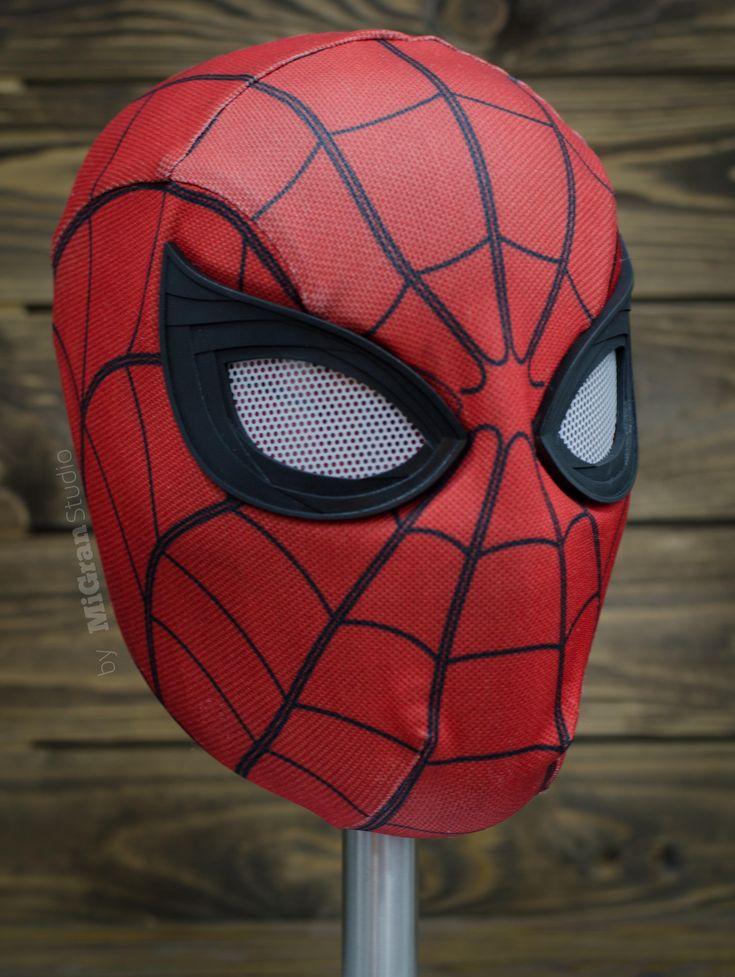 Человек паук картинки маска