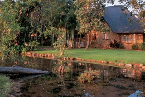 Kruger Park Lodge is an eco friendly design set out amongst the natural vegetation of the Lowveld region of Mpumalanga. The Kruger Park Lodge Estate is situated on a 9 hole Gary Player designed golf course on the banks of the Sabie River in Hazyview, Mpumalanga. The resort offers guests a tranquil and peaceful haven away from the madding crowds.