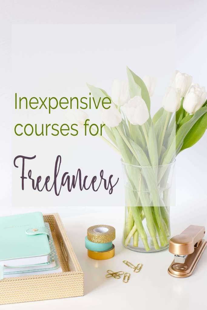 Courses for freelancers and entrepreneurs that cost under $100