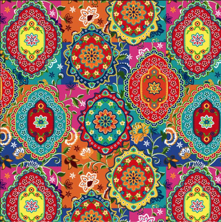 #colourful #prints #fabrics #inspiration #ideas
