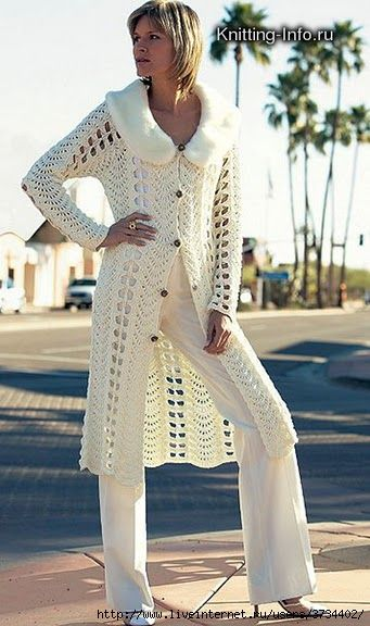 #cardigan #crochet #knit #patterns #diagrams - Another amazing site!
