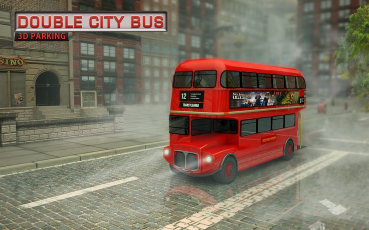 Get behind the wheel and drive one of the most famous buses around the world - the red Double Decker Bus!