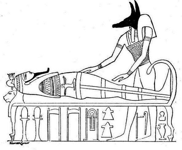 Egyptian Mummy Coloring Page Printable Egyptian Art Egyptian