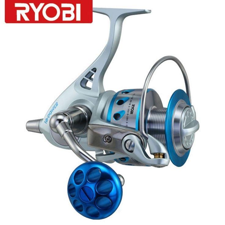 (125.35$)  Watch more here  - RYOBI CARNELIN18000/20000 Spinning Fishing Reel 10+2BB 4.4:1 Full Metal Fishing Reels Carretilhas De Pescaria Peche Para Pesca