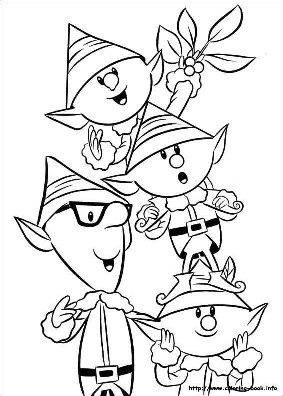 139 best Christmas Coloring Pages images on Pinterest ...