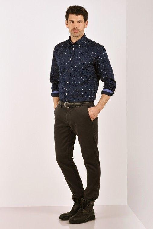 Eden Park Bow Tie Oval Tape Shirt