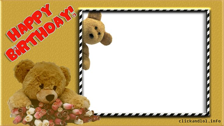 happy birthday frame png clickandlol collect and share fun pinterest happy birthday kid and frames